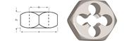 Immagine di F272 / Dormer G(BSP)  Filiere esagonali