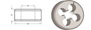 Immagine di F320 / Dormer UNC Filiere regolabili