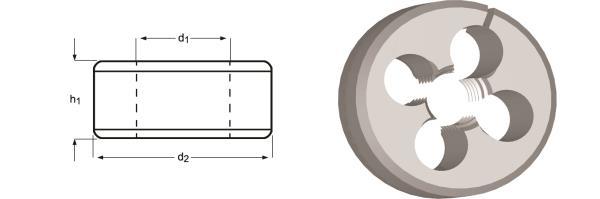 Immagine di F370 / Dormer G(BSP) Filiere regolabili